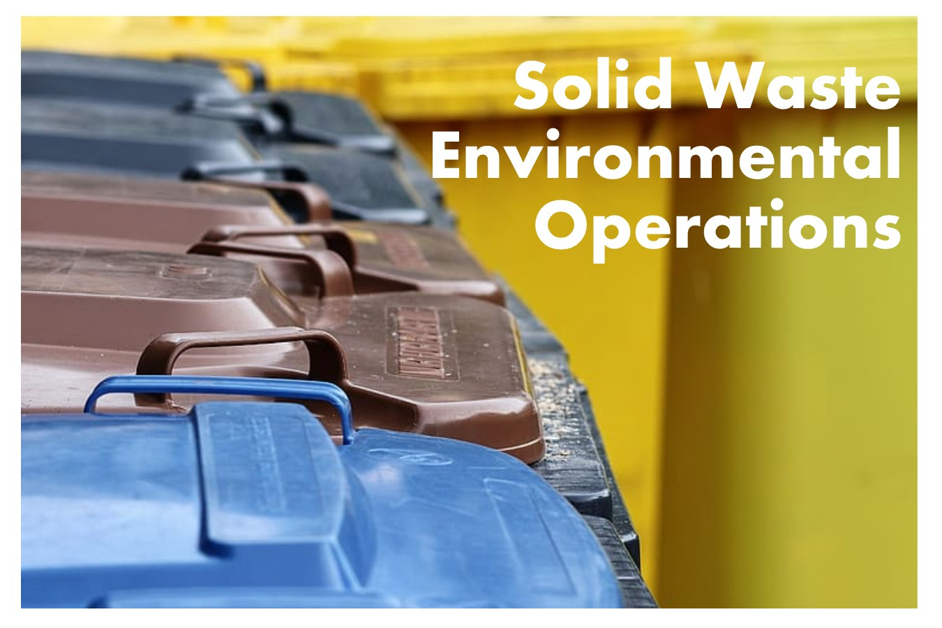 Solid Waste Environmental Operations